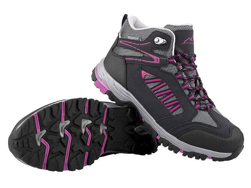 Crivit Damen Trekkingschuhe Wanderschuhe Trekking Schuhe Atmungsaktiv Wasserdicht