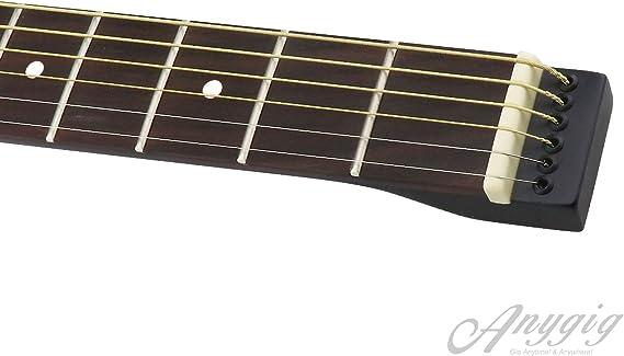Anygig Agsse cuerdas de acero acústico para diestros, guitarra ...