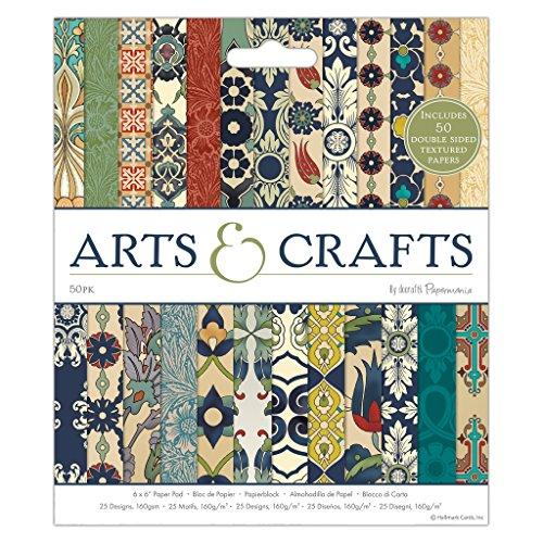 "Docrafts Papermania Craft Premium Paperstock 6 x 6"" - Arts & Crafts (50pk)"