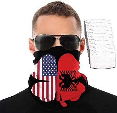 Bavaria Bavarian Flag Windproof Dust-proof Motorcycle Face Mask For Out Riding Motorcycle Bicycle Bike