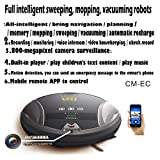 The GBAR Multi-Purpose Robot: Fully Automatic Sweeping, Mopping, Vacuuming, Remote APP, Surveillance, Two-Way Voice Conversation, Playing Music