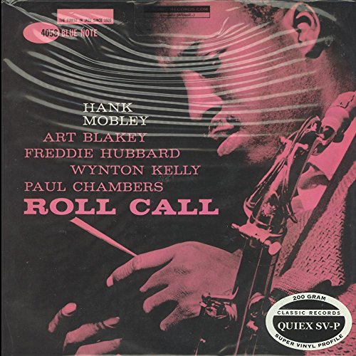 "Blue Note - Hank Mobley - Roll Call ""Mono"" - 200g Quiex SV-P - LP Vinyl Reissue by Classic Records"