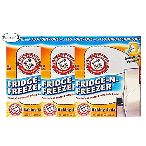 Arm & Hammer- Fridge-N-Freezer Baking Soda (14Oz) (Pack of 3)