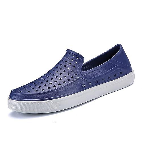 Moda Zapatillas Hombre, Btruely Herren Sandalias de Playa Verano 2018 Zapatillas de luz Huecos Chancletas de Plana Casuales Zapatos de Conducción Informal y ...