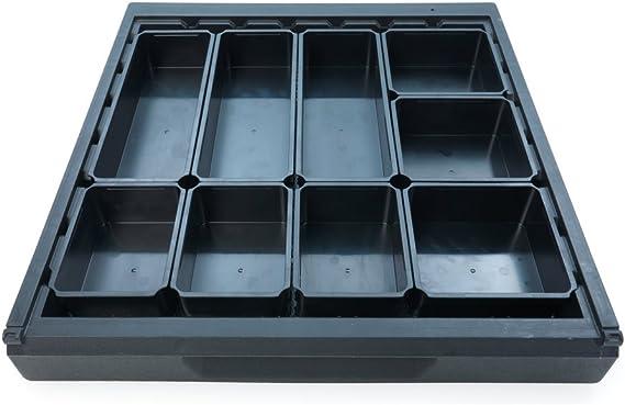 Wolfcraft 6790000 Sistema para ordenar cajones, 9 cajas: Amazon.es: Bricolaje y herramientas