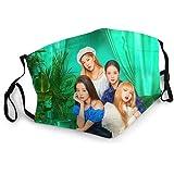 Blackpink Jisoo Jennie Rose Lisa Jisoo Outdoor Mask,Protective 5-Layer Activated Carbon Filters Adult Men Women Bandana