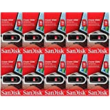 SanDisk Cruzer Glide 16GB (10 Pack) USB Flash Drive Jump Pen Memory Stick CZ60