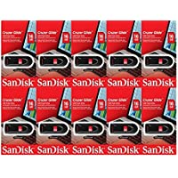 SanDisk Cruzer Glide 16GB (10 Pack) USB Flash Drive Jump Pen Memory Stick CZ60