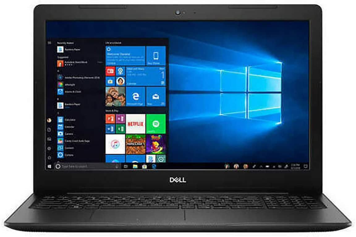 "2020 Dell Inspiron 15 15.6"" FHD Laptop Computer, 10th Gen Intel Quad-Core i7 10510U up to 4.9GHz, 8GB DDR4 RAM, 512GB PCIe SSD, Webcam, Black, Windows 10, Online Class Ready, BROAGE 64GB Flash Drive"