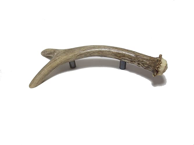Real Deer Fork Antler Handle Drawer Pull Cabinet Hardware
