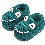 Zapatillas de Felpa Dinosaurio de Dibujos Animados para niños y niñas Invierno Otoño Casa cálida Zapatos Interiores para…