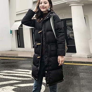 Luckycat Moda Mujeres de Invierno Chaqueta Larga Abrigo de algodón Caliente Slim Trench Parka Ropa S-2XL: Amazon.es: Ropa y accesorios