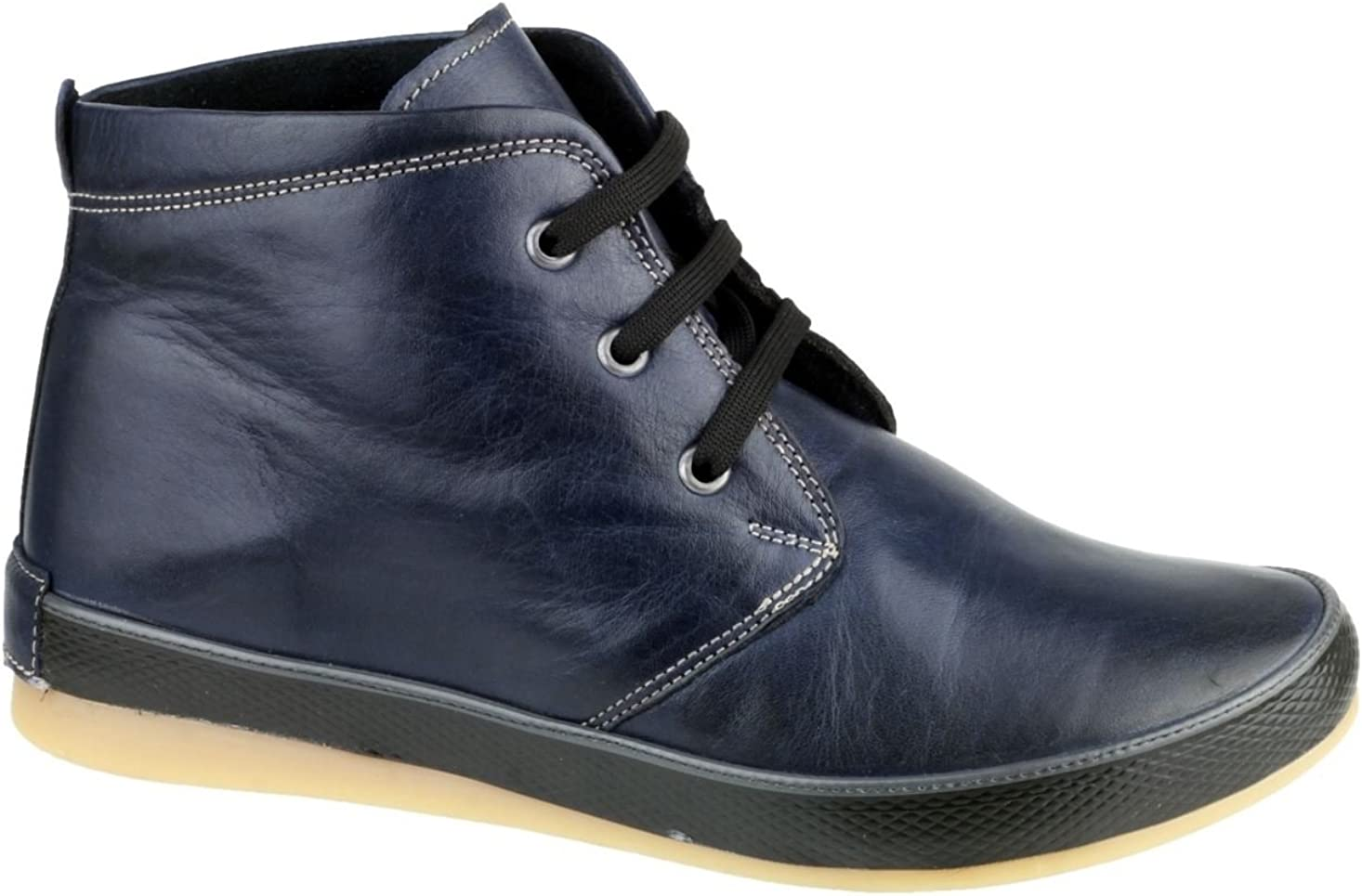 Cotswold Wdge Womens Navy Blue Flat