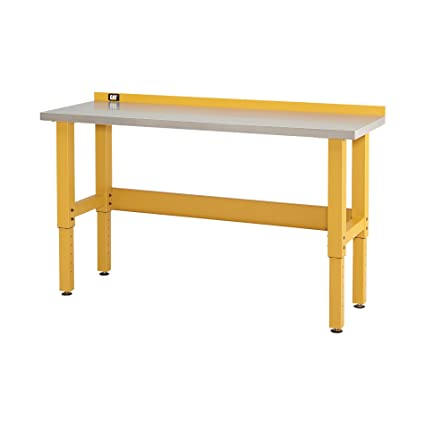 cat 6 foot stainless steel workbench designed engineered assembled in the usa - Stainless Steel Work Bench