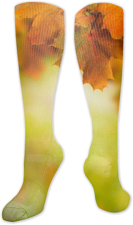 Unisex 3D Waterfall By The Trees Socks Crazy Tube Funny Novelty Polyester Fibre Socks