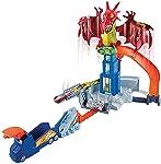Hot Wheels Conjunto Fúria do Dragão, Mattel, Vermelho