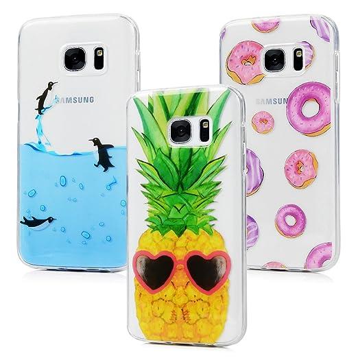 3 opinioni per 3x Cover per Samusng Galaxy S7, Custodia