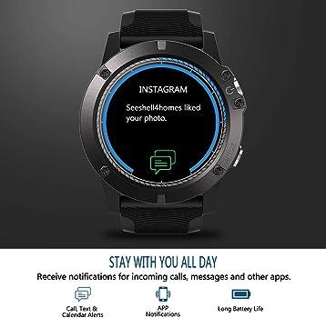 Zwbfu Zeblaze Vibe 3 Pro Smart Watch 1.3 Pulgadas IPS Pantalla a ...