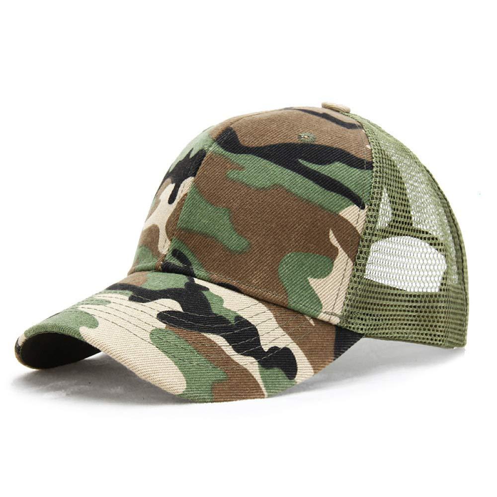 sdssup Sombrero de Camuflaje Gorra Neta Sombrero Gorra de Pesca ...
