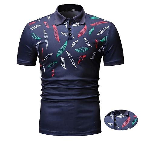 Adidase Camisa de Polo para Hombre, Camisa Polo con Estampado de ...