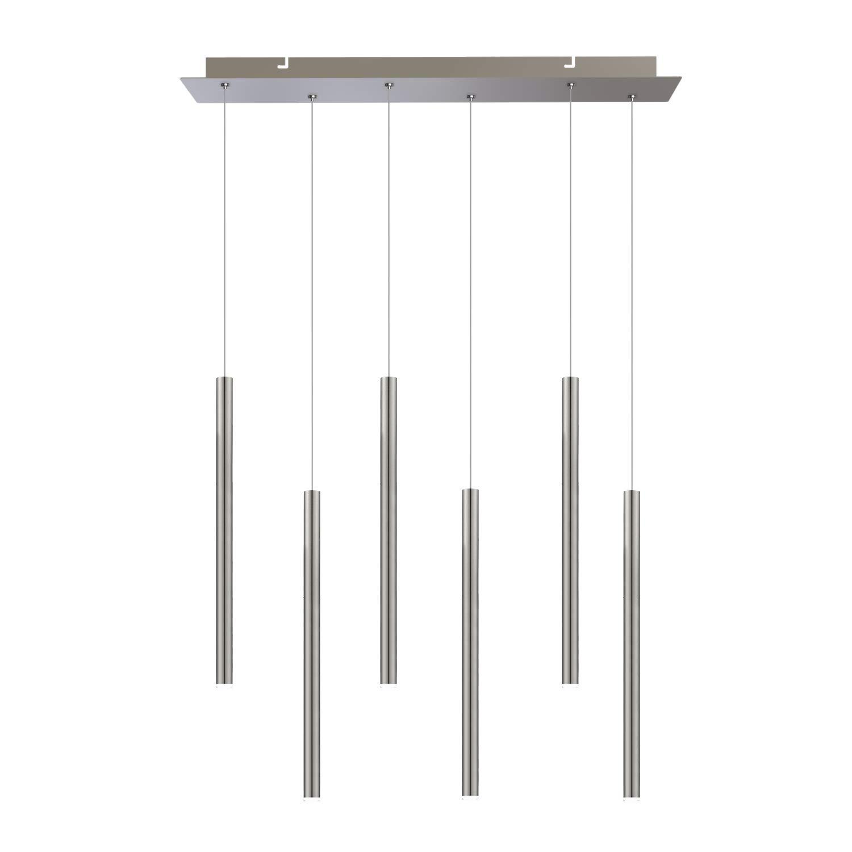 CIS 6 Mini Pendant Lighting Nickel - LED Hanging Light Fixture for Kitchen Island Wiring Diagram on kitchen light wiring diagram, kitchen island outlet wiring, kitchen island electrical wiring,