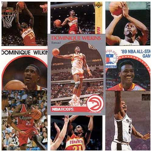 Atlanta Hawks Dominique Wilkins 20 Card Set (Dominique Wilkins Atlanta Hawks)