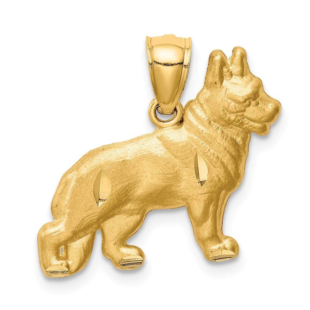 FB Jewels 14K Yellow Gold 15x11mm Oval St Jude Thaddeus Medal