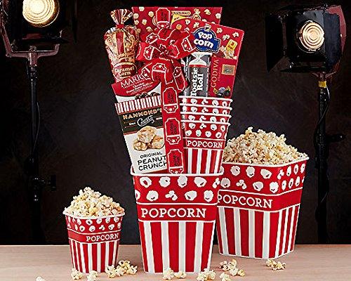 Wine Country Gift Baskets Popcorn and Candy - Gift Country Wine Baskets Popcorn