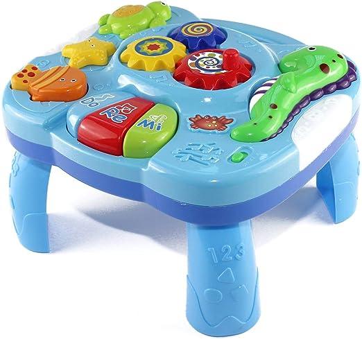 Winnerruby Musical Table Baby, Mesa de Aprendizaje Musical ...