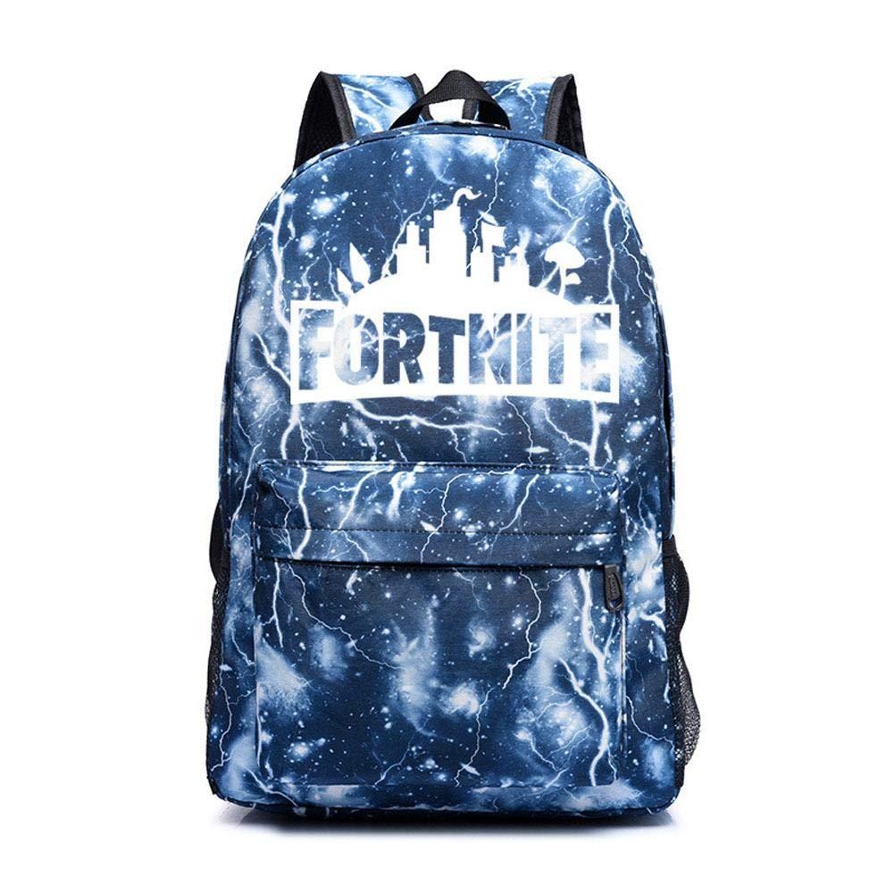 Mochila Luminosa,Mochila Fortnite Daypack De 15,6 Pulgadas Con Puerto De Carga USBpara viajes, trabajo, ocio, fiesta, vida, escalada al aire libre de Beatie