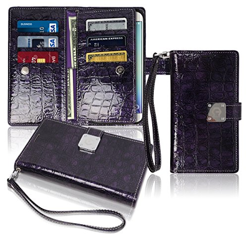 s6-edge-plus-57-wallet-case-glossy-9-pockets-for-6-id-credit-card-3-cash-slots-power-magnetic-clip-w