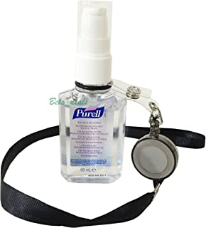 2 X Purell Gojo Personal Retractable Ring Clips Blue Amazon Co
