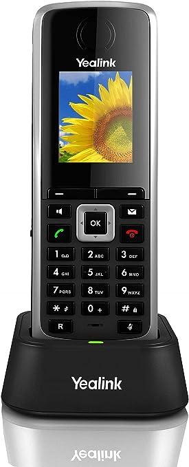 Yealink W52H - Teléfono inalámbrico IP con desvío de llamadas y PoE, Negro: Yealink-Telefonia: Amazon.es: Electrónica