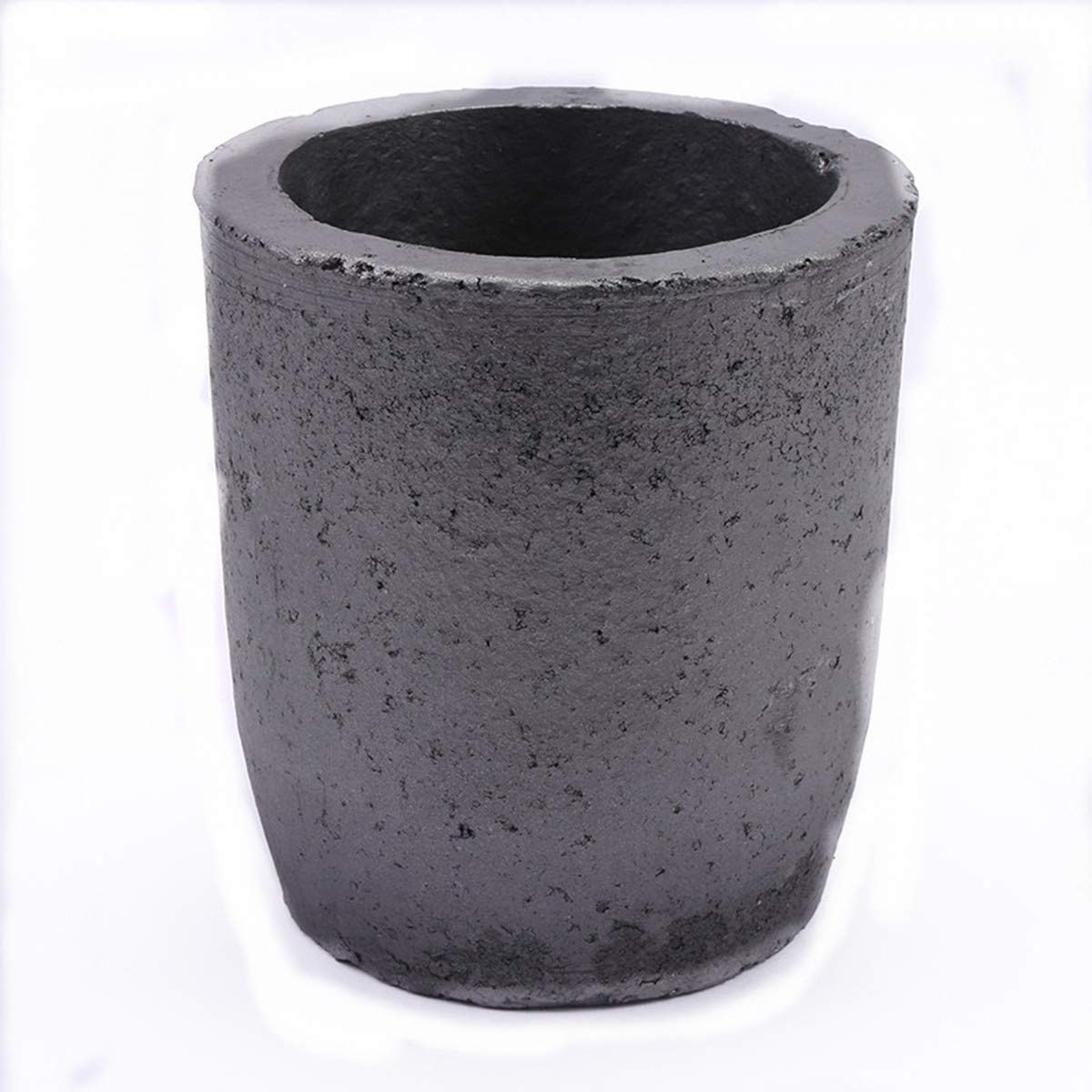 Durable Foundry Silicon Carbide 6KG Graphite Crucibles Cup Furnace Coke Oven Electric Torch Lab Supply Melting Casting Refining Gold Silver Copper Brass Aluminum (#12(1200ML))