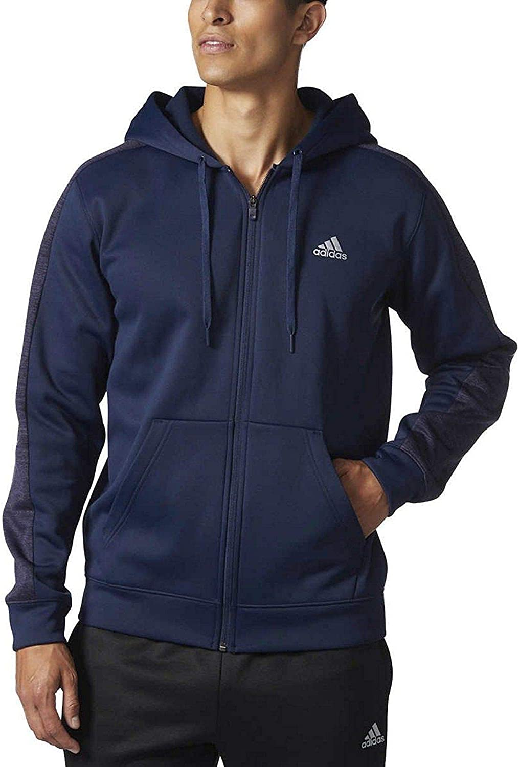 adidas fleece full zip