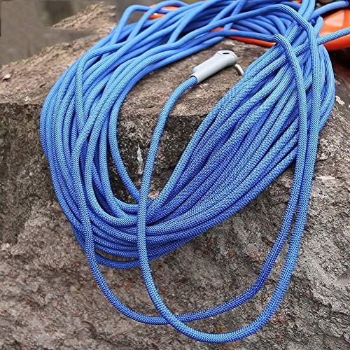 ホステス叙情的な洗練ラペリング、補助、火災脱出航空工事、多目的ロープ、直径12mmの安全丈夫な高品質のロープ10-100メートルのためにロープを登る (色 : オレンジ, サイズ : Diameter 12 mm/50M)