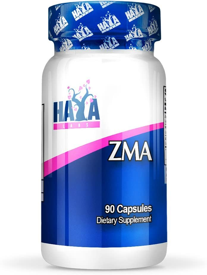 HAYA LABS ZMA 90/180 Zinc, Magnesium & Vitamin B6 Testosterone Boost (90)