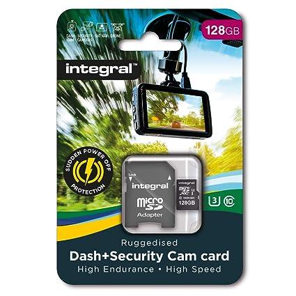 Integral INMSDX128G10-DSCAM - Tarjeta de Memoria Micro SD ...