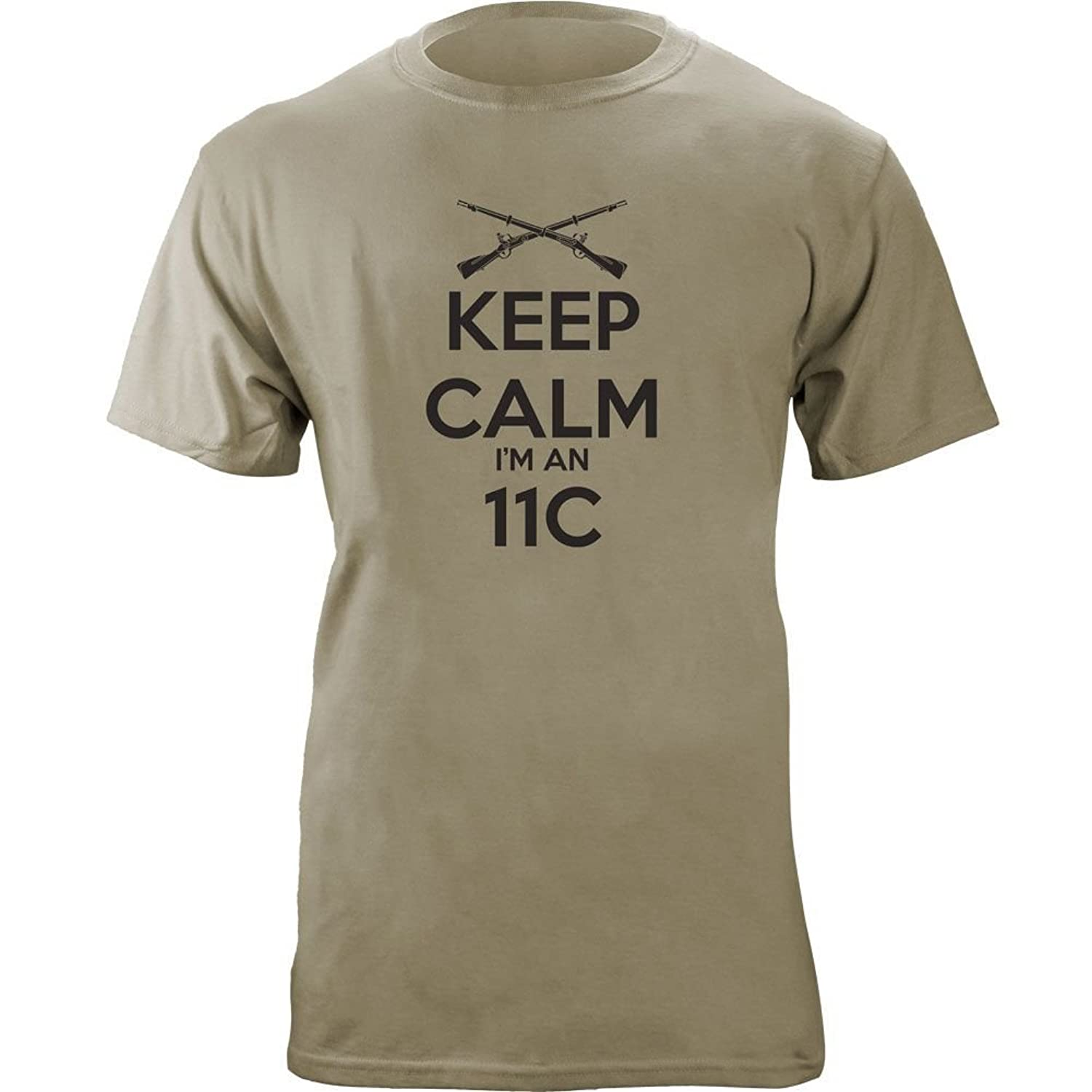 Nice Classic Keep Calm I'm an 11C Indirect Fire T-Shirt