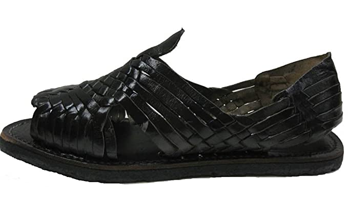 4afff6282279b Amazon.com  MEXICAN SANDALS-Men s Genuine Leather Quality Handmade Sandals  Huarache  Clothing