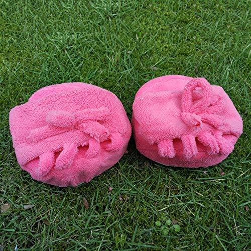 de Pantoufles de SDGDFXCHN Demi Doigts Pantoufles Maison Rosy de beauté Pantoufles Cinq Pied Pied Chaussures Pied à de 6x1qxBg