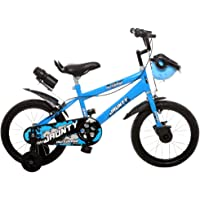 Outdoor Bikes Range 16 Inch Bicycle for 5 to 8 Years Age Group, Semi Assembled with Instruction Leaflet & Tool