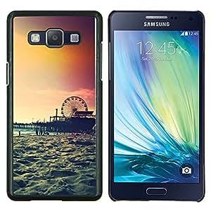 Dragon Case - FOR Samsung Galaxy A5 A5000 A5009 - sunset Coney island new york summer - Caja protectora de pl??stico duro de la cubierta Dise?¡Ào Slim Fit