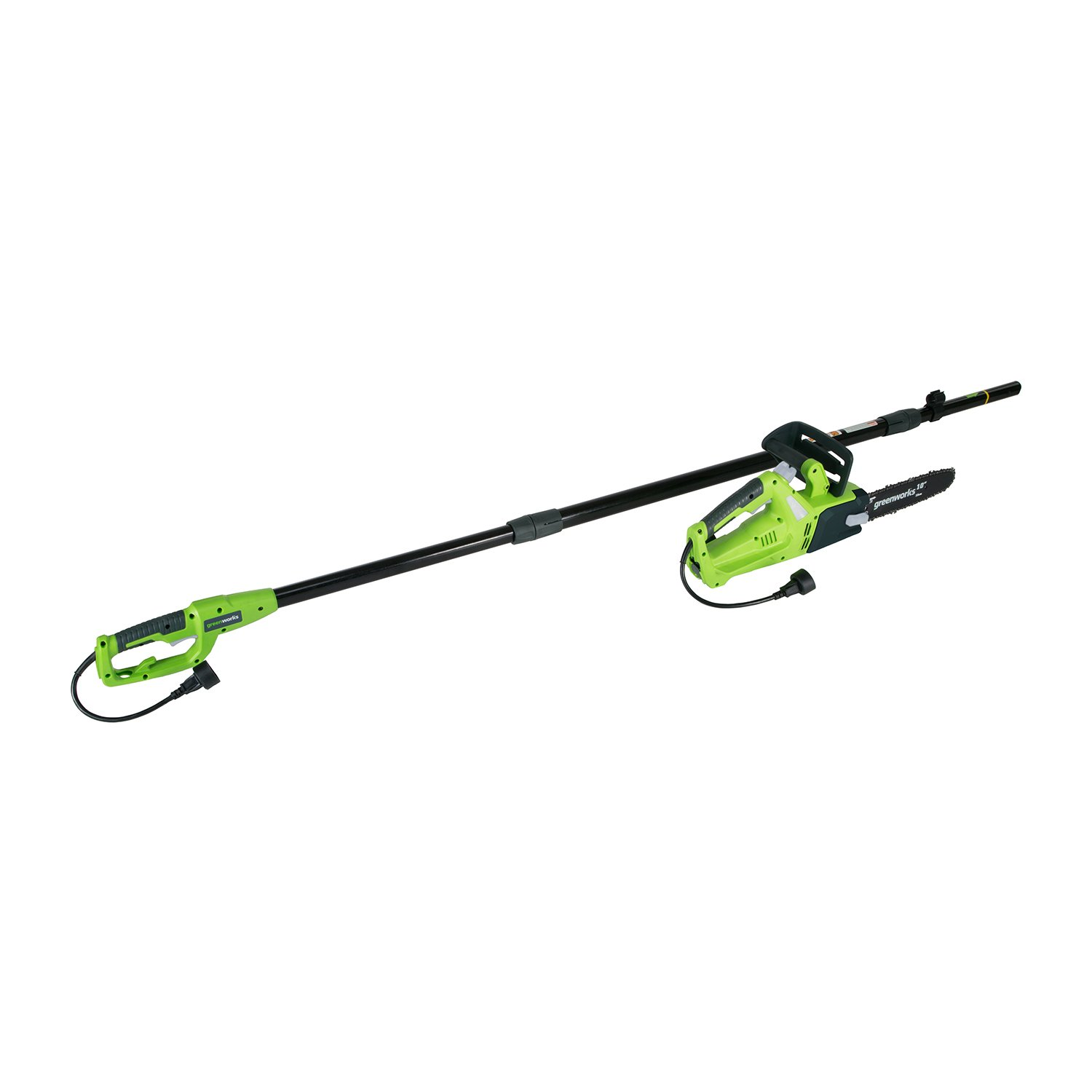 Greenworks 9.3 6 Amp Corded Chainsaw with Pole Saw Attachment PSCS06B00