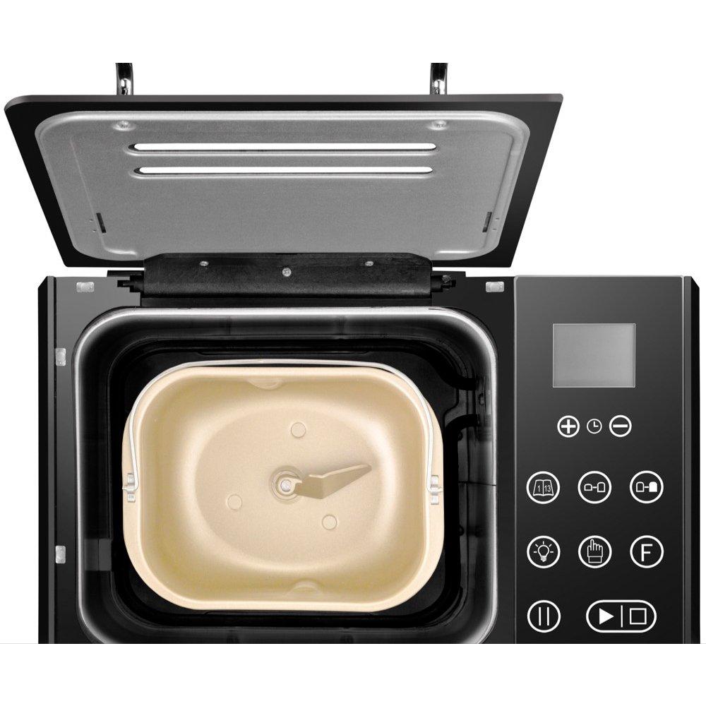 Unold BACKMEISTER Compact Plus 545W - Panificadora (Acero inoxidable, Plata, 1 kg, Pan sin gluten, 500 g, 13 h): Amazon.es: Hogar