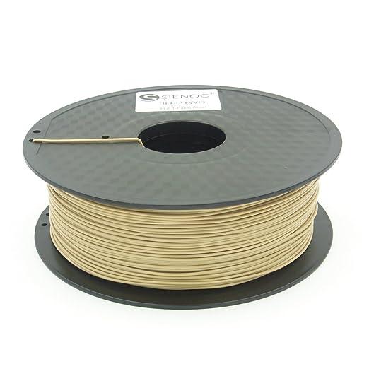 39 opinioni per SIENOC 1Kg Legno Colore PLA 1,75mm 3D Printer Filamento Spool 3D Materiale di
