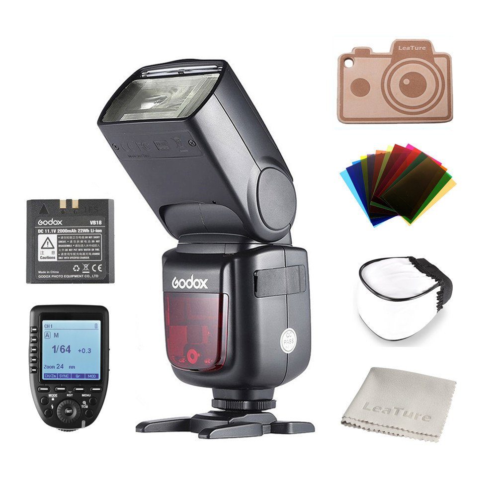 Godox Ving V860II-S TTL Flash and Xpro-S Trigger V860II-S+Xpro-S High-Speed-Sync Speedlite and Trigger for Sony A7 A7R A7S A7II A7RII A58 A99 A6000 A6300 Camera