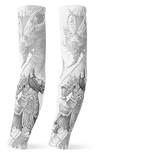Mangas del Brazo Arte Corporal Fresco Falso Temporal en el Tatuaje ...
