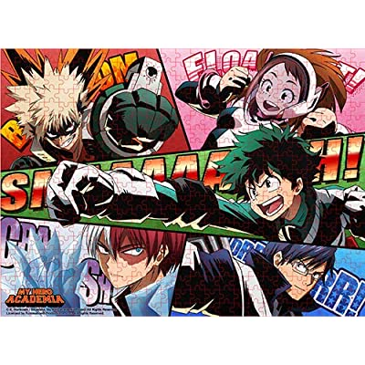 My Hero Academia - Hero Sound Effects Jigsaw Puzzle (500pcs): Toys & Games