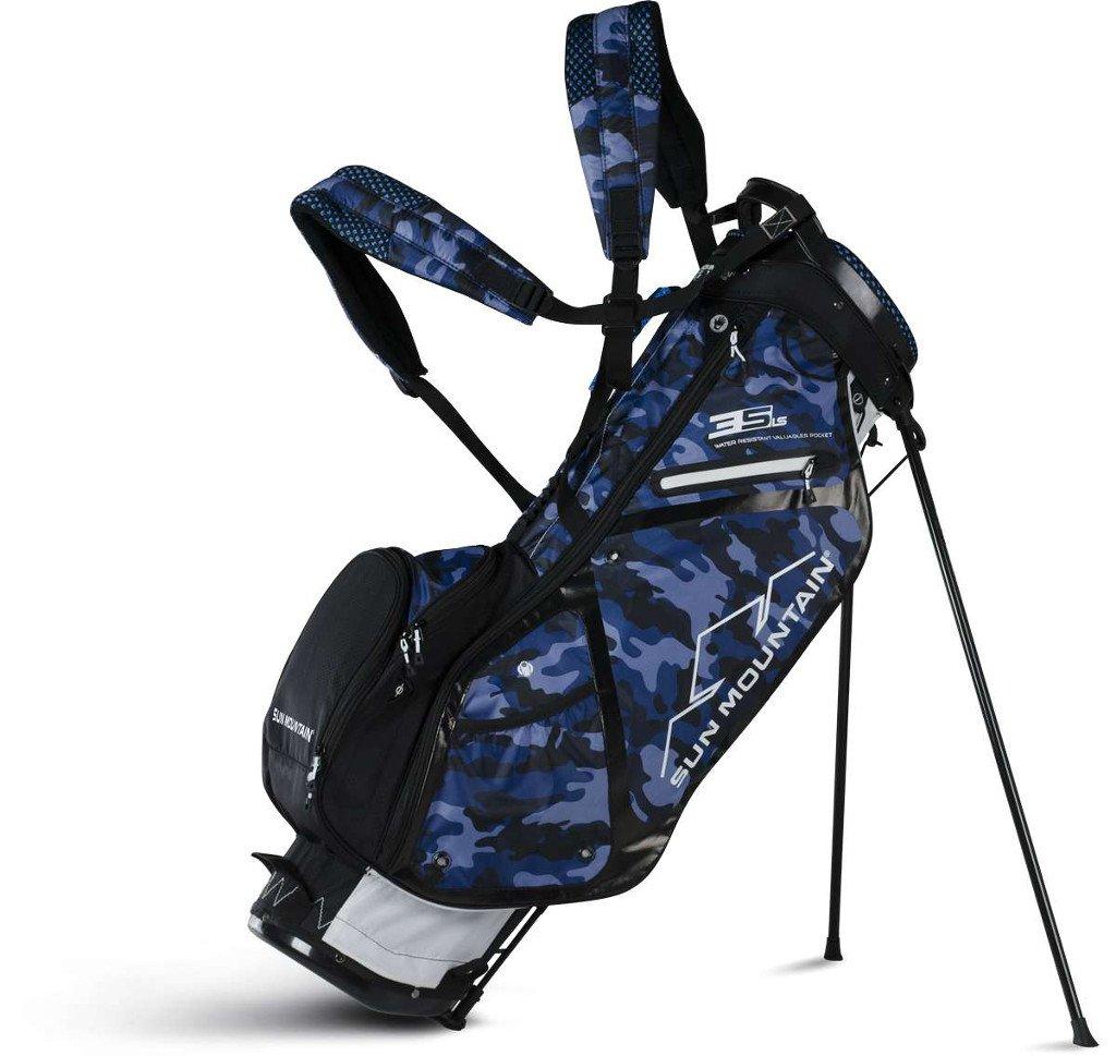 Sun Mountain Golf 2018 3.5 LS Stand Bag WHT-MIDNITE-CAMO (White/Mid Night/Camo)